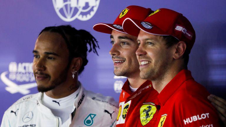 Lewis Hamilton bidding to deny Ferrari hat-trick in Singapore GP
