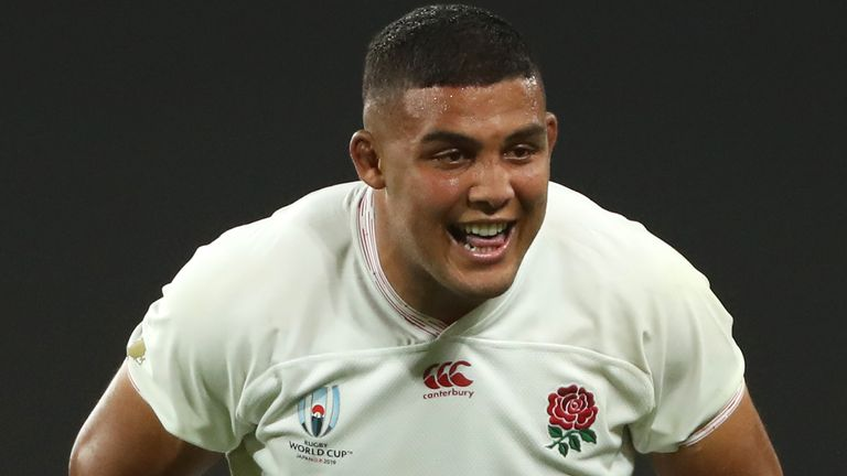 Ludlam started for England in the 2019 World Cup against the USA
