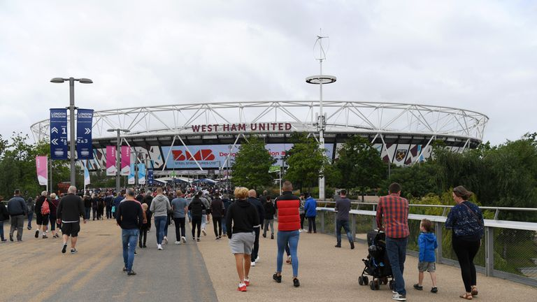 Saturday's event is being hosted by West Ham United at the London Stadium