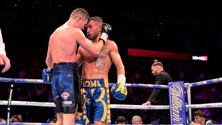 Campbell gave Lomachenko a good fight