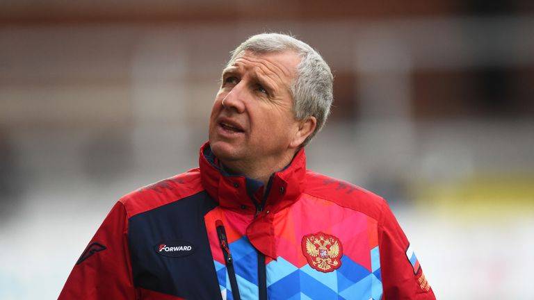 Welshman Lyn Jones has led Russia to just their second World Cup