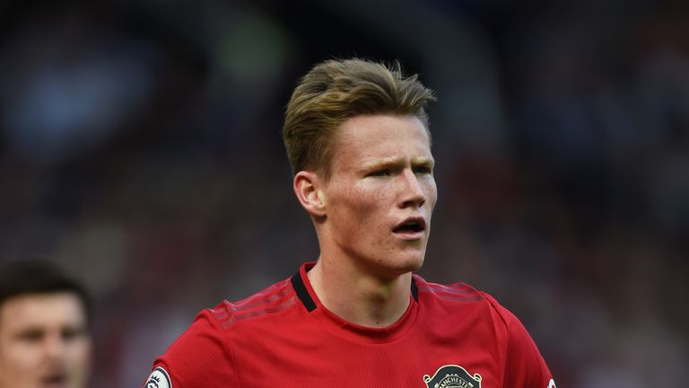 McTominay has featured six times for United so far this season