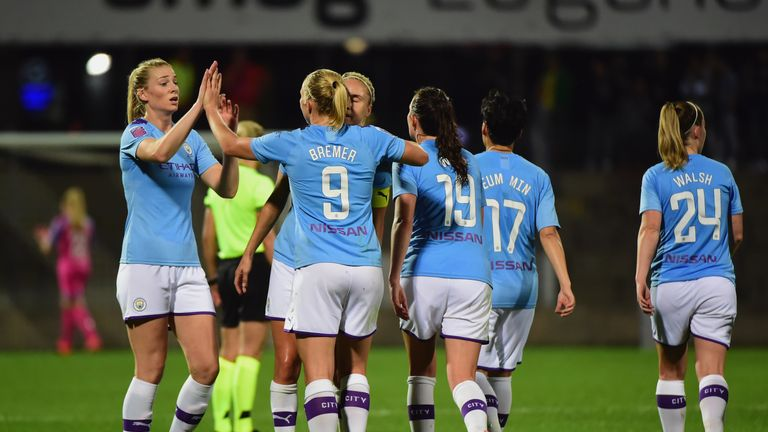 Women's Champions League round-up: Arsenal and Manchester City record emphatic wins