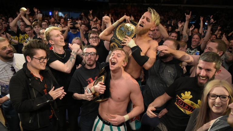 Tthe NXT UK event in Cardiff was a glorious success