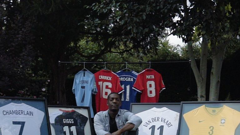 Sordell has launched his campaign Let's Shirt Talk to help raise money for CALM