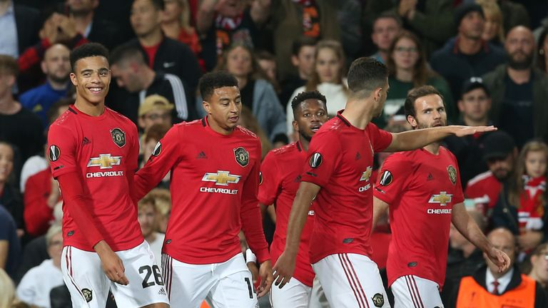 Mason Greenwood has taken his chance in the Carabao Cup and Europa League