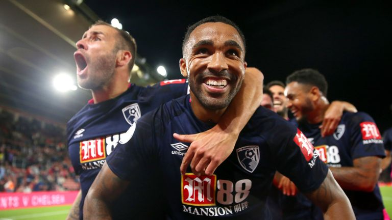 Callum Wilson has scored five goals in seven Premier League games so far this term