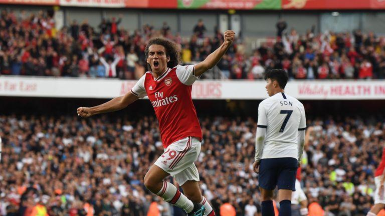 Matteo Guendouzi epitomised Arsenal spirit in their second-half comeback