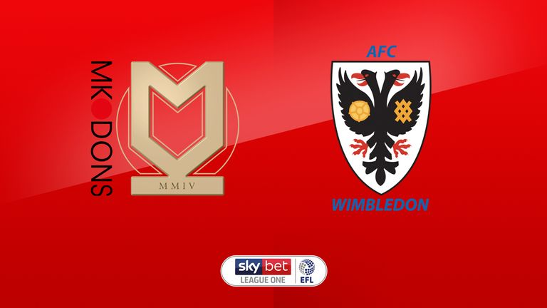 Match Preview - MK Dons vs AFC W'don | 07 Sep 2019