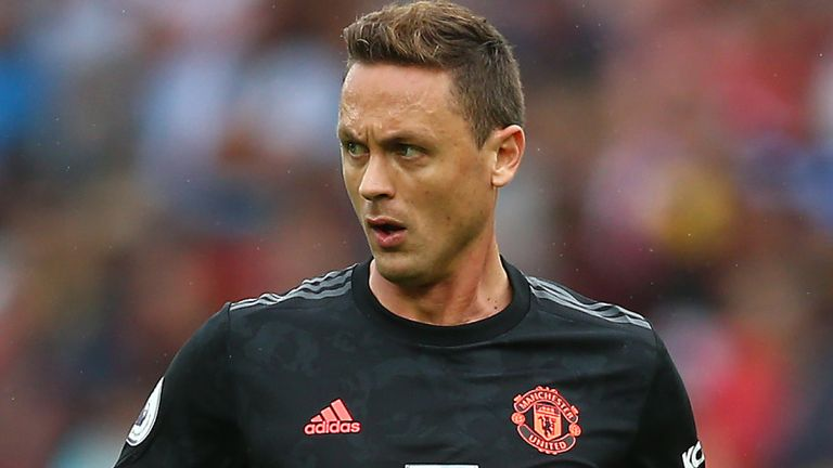 Nemanja Matic has made just one appearance for Manchester United this season