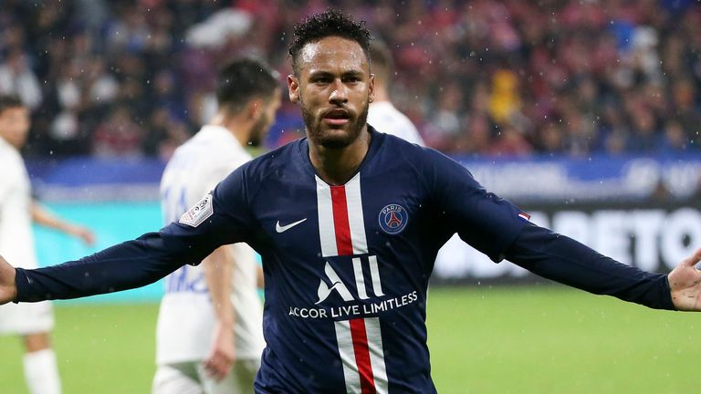 Neymar has scored the winning goal in his first two appearances this season