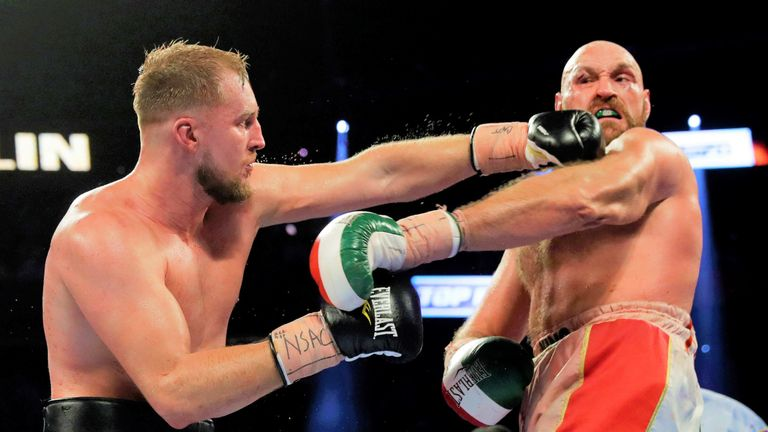 Otto Wallin would welcome a second fight with Tyson Fury