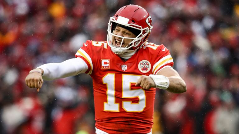 Patrick Mahomes was the league's Most Valuable Player last season
