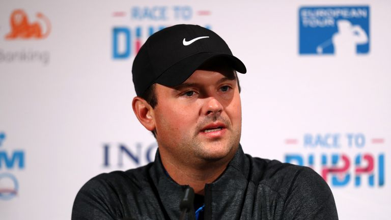 Patrick Reed is one of the notable names in action at the KLM Open