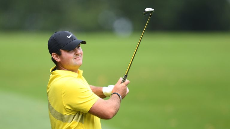 Patrick Reed finished tied-fourth on his Wentworth debut