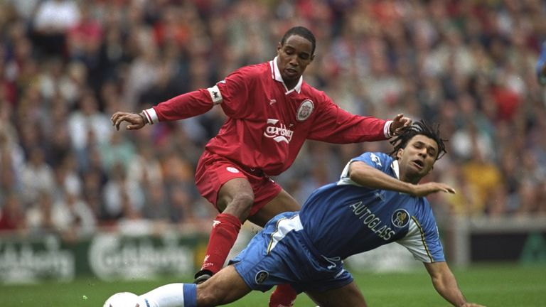 Paul Ince was Carragher's central midfield partner - having joined the club from Inter that summer for £4m