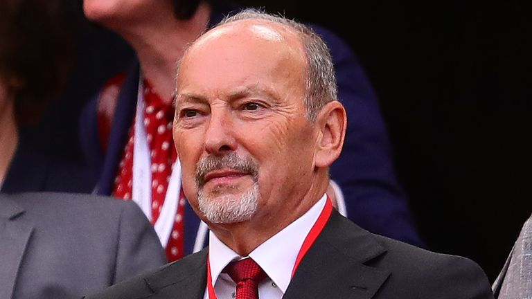 Liverpool chief executive Peter Moore