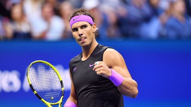 The Spaniard was two sets and a break up before Medvedev battled back
