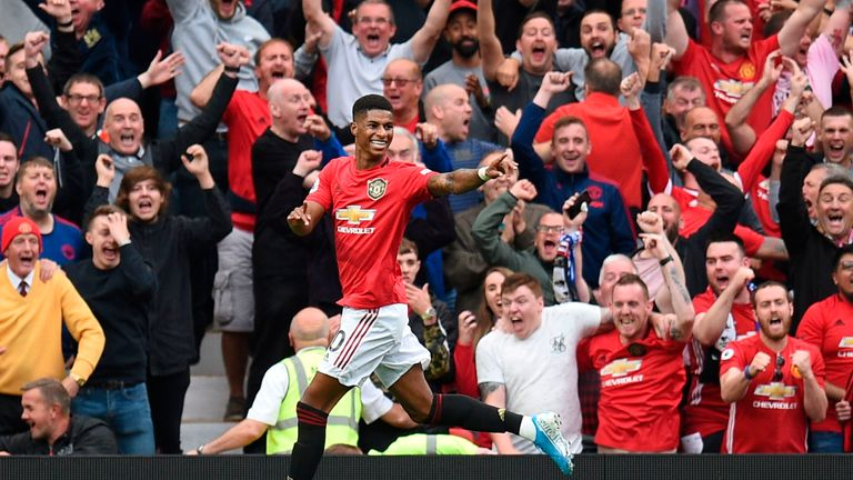 Man Utd thrashed Chelsea 4-0 at Old Trafford on the opening weekend
