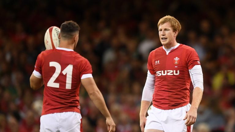Rhys Patchell was making his first Test start since June 2018 on Saturday