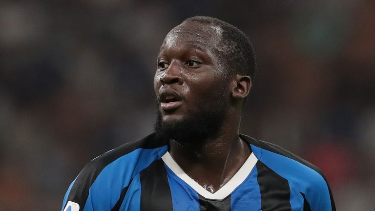 An Italian TV pundit was suspended for his comments on Romelu Lukaku