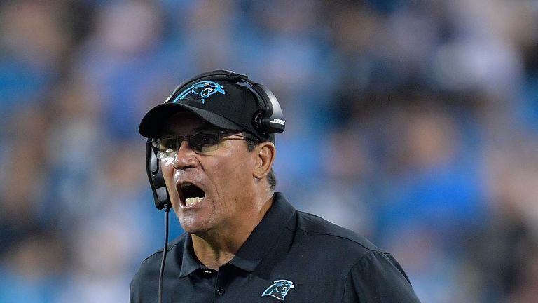 Ron Rivera has been sacked by the Carolina Panthers