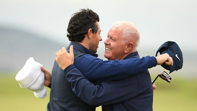 Rory McIlroy played in the 2019 contest, with his father as his amateur partner