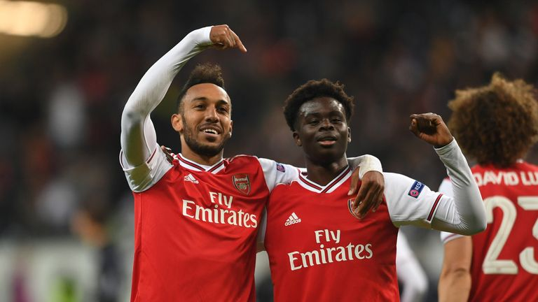 Bukayo Saka impressed in Arsenal's 3-0 win at Eintracht Frankfurt