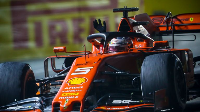 Singapore GP: Sebastian Vettel beats angry Charles Leclerc to end F1 win drought