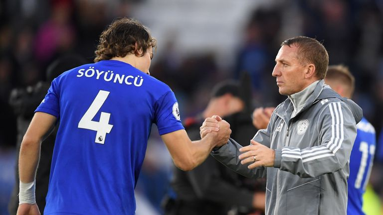 Rodgers has seen his faith in Soyuncu rewarded by some strong performances