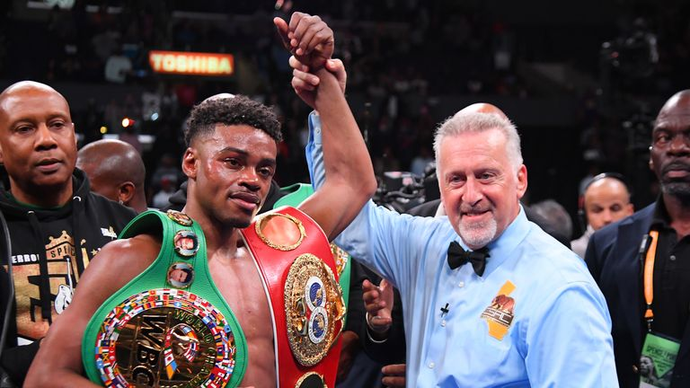 Spence has the IBF and WBC belts