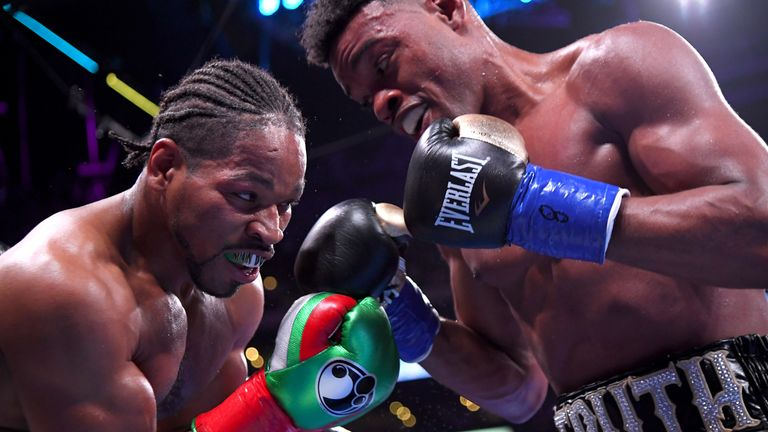 Errol Spence Jr beat Shawn Porter via a split decision just two weeks ago