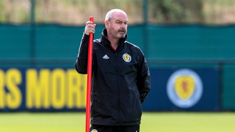Steve Clarke wants Scotland to claim a big international scalp to boost confidence