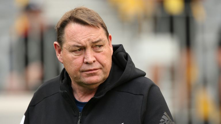 Steve Hansen spent almost 16 years with the All Blacks