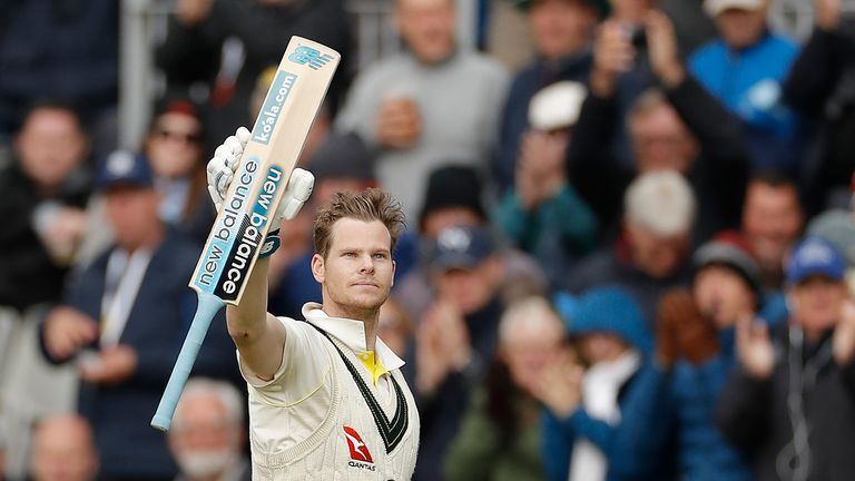 Steve Smith scored a remarkable 774 runs at 110.57 in the Ashes