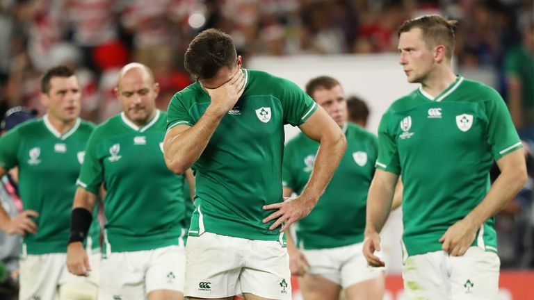The defeat was Ireland's first to a Tier 2 side in World Cup history