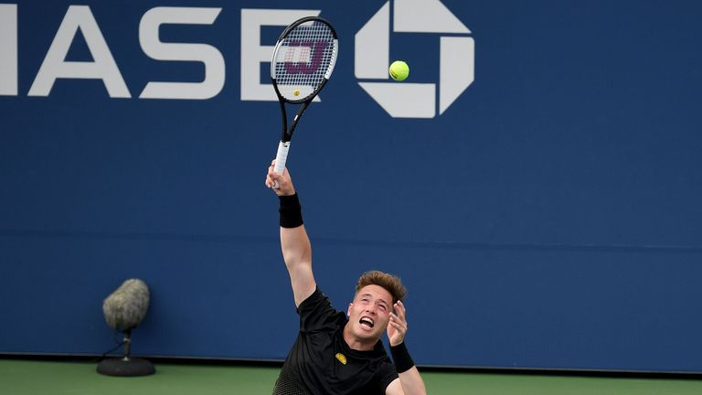 Alfie Hewett will face Stephane Houdet in the US Open wheelchair singles final