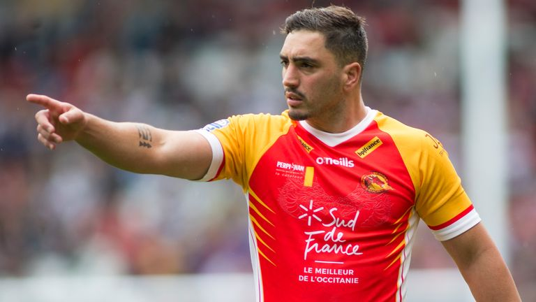 Tony Gigot's Catalans contract was not renewed at the end of last season