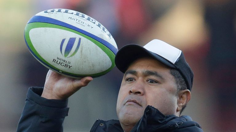 Former Wallabies back-row Toutai Kefu takes charge of Tonga in Japan