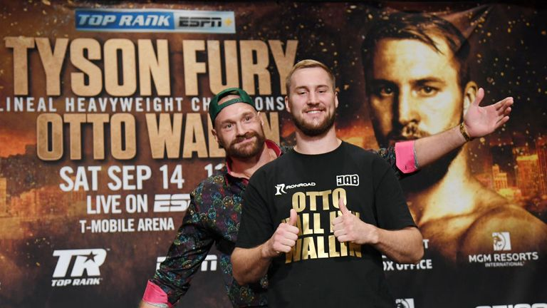 Fury insists he hasn't underestimated Otto Wallin