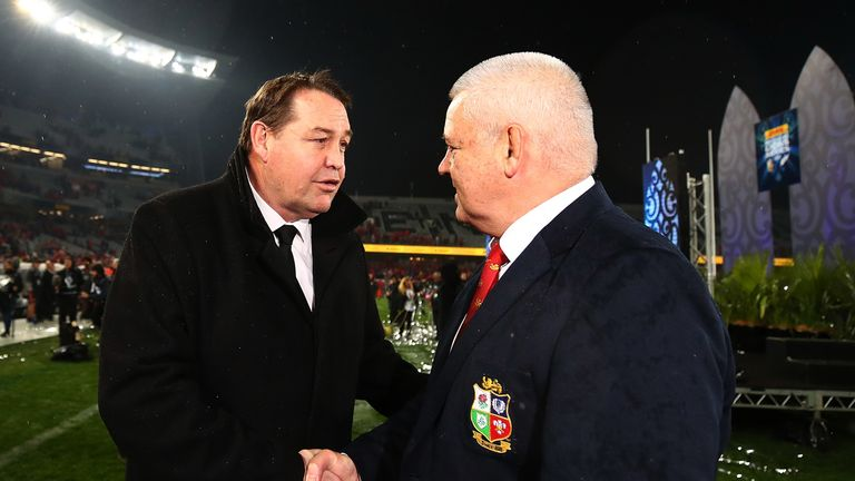 Warren Gatland's experience with the Lions counts for plenty