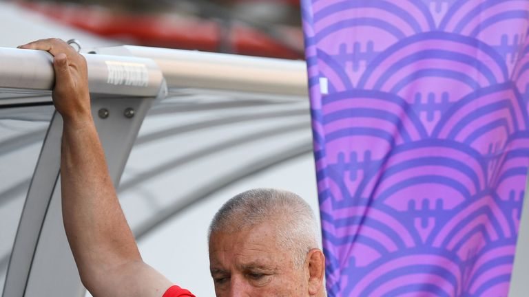 Warren Gatland says Wales are still hurting from their narrow defeat to Wales at the 2011 World Cup