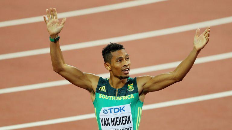 Wayde van Niekerk has not recovered from a knee injury