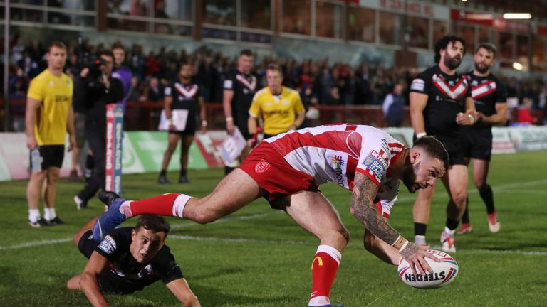 Will Dagger got Hull KR's first try