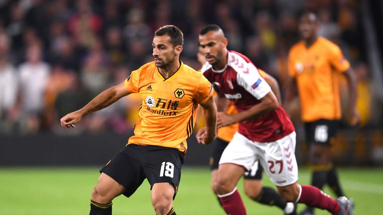 Wolves' Europa League group stage opener ended in defeat