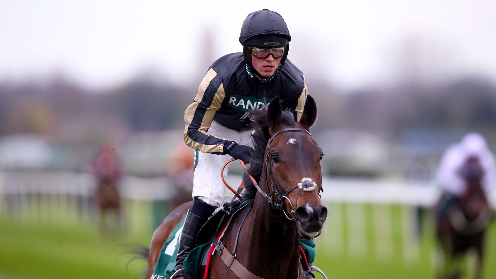 Harry Cobden excited by novice hurdle prospect McFabulous - Sky Sports