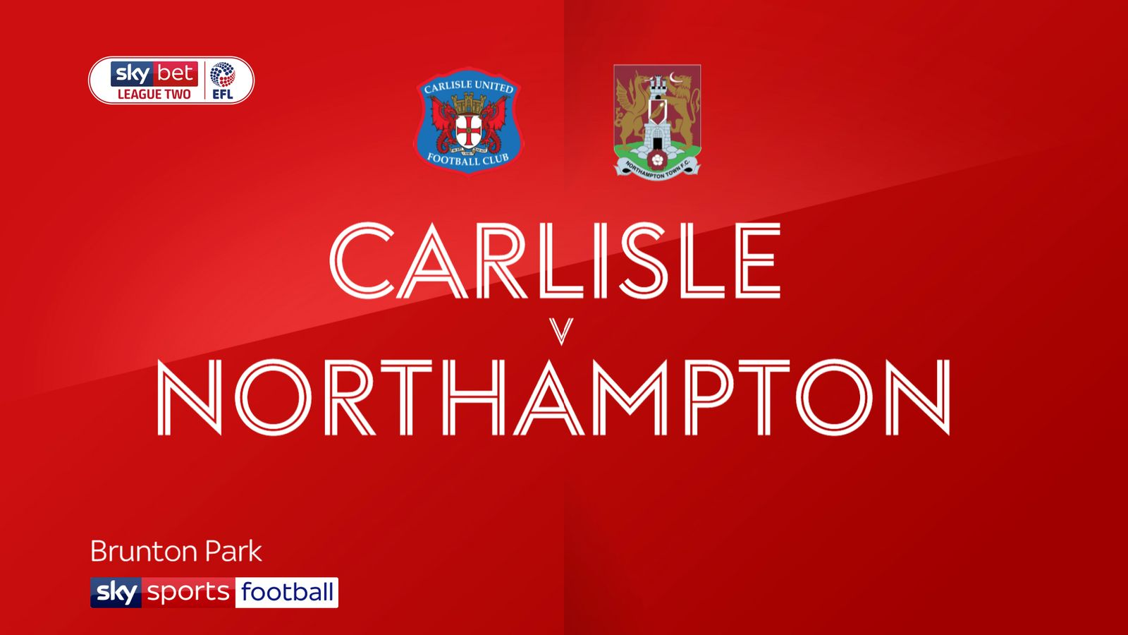 Carlisle 0-2 Northampton: Keith Curle enjoys winning return