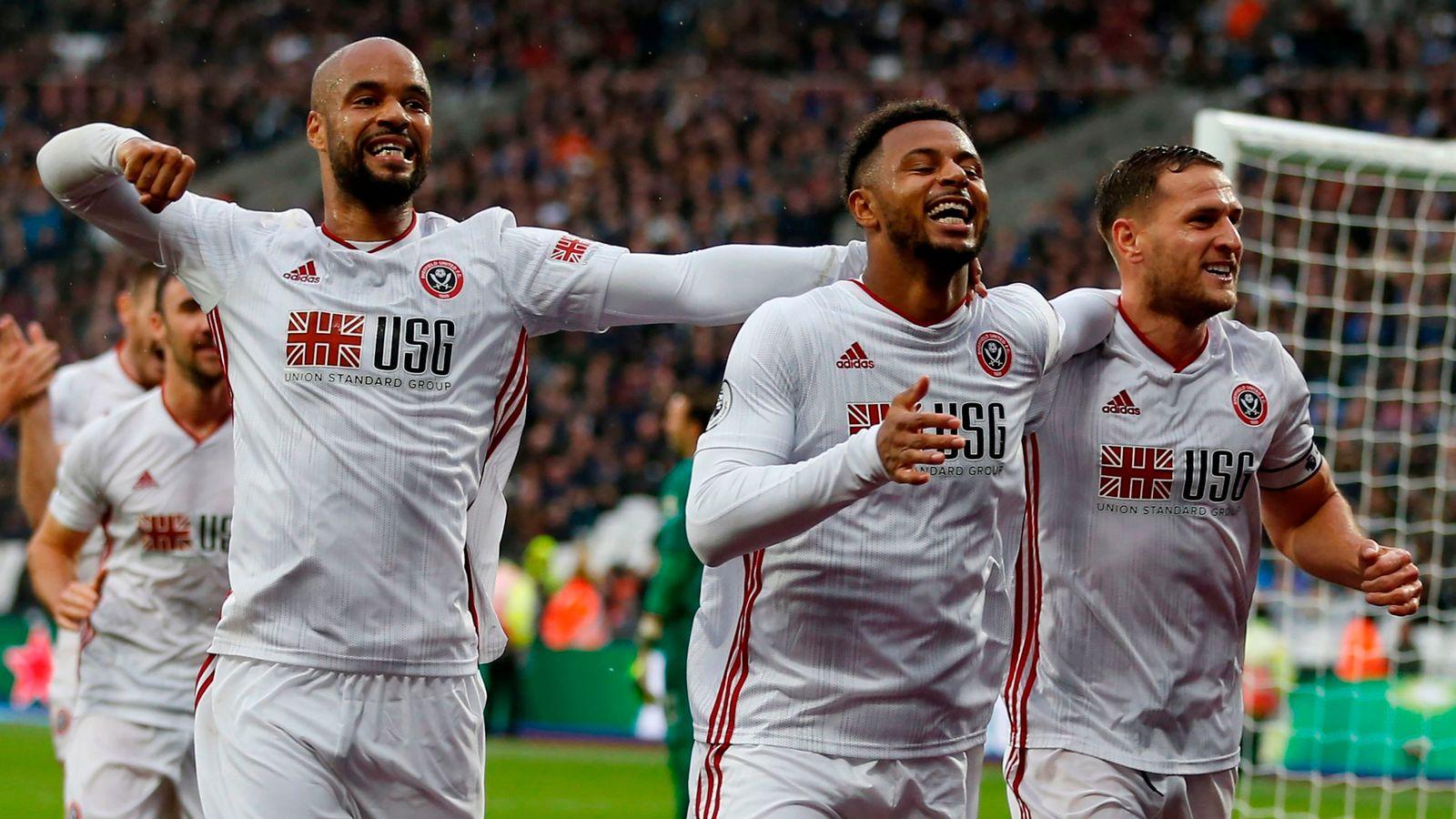West Ham 1-1 Sheffield United: Blades remain unbeaten on the road