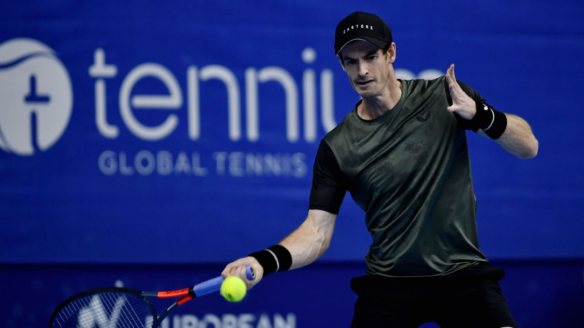 Andy Murray beats Kimmer Coppejans to return to winning ways in Europe