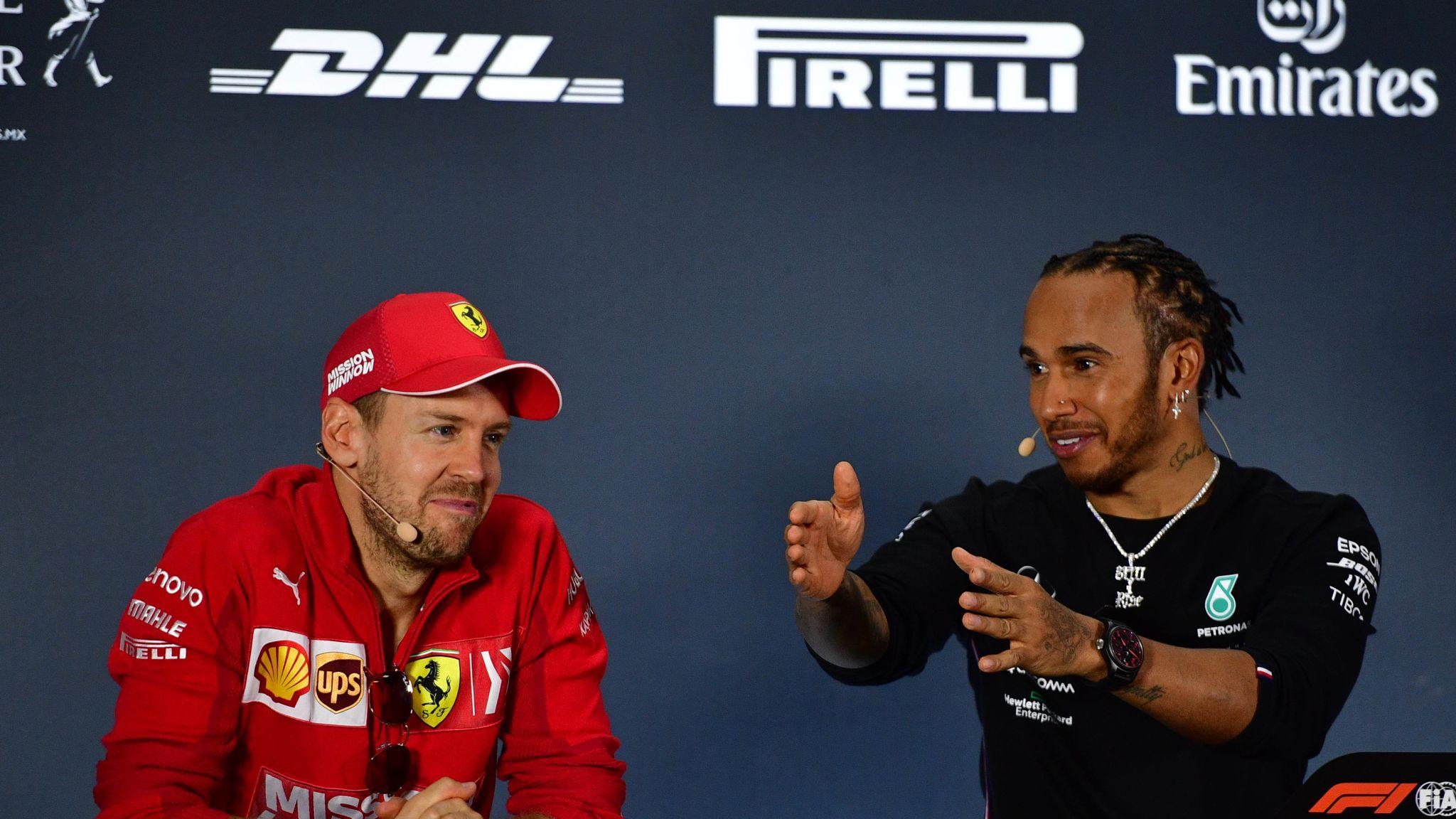 Sebastian Vettel: Lewis Hamilton 'deserves all' his F1 success, titles